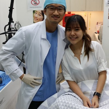Chin fillers with Dr Daniel Chang